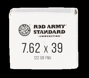 Red Army Standard 7.62x39mm 122 GR. FMJ - Steel Case - 20RD