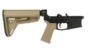 Aero Precision M4E1 Complete Lower Receiver w/ Magpul MOE SL Grip & SL - FDE