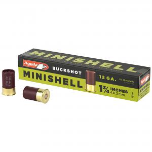 Aguila Minishells 12GA Buckshot - 20RDS