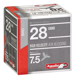 Aguila Target Load Shotshell 28GA #7.5 - 25RDS