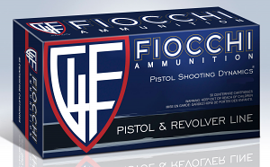 Fiocchi 9APBHP Defense Dynamics 9mm Luger 124 GR Jacketed Hollow Point