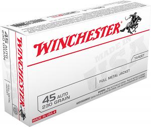 Winchester Ammo Q4170 USA 45 ACP 230 gr Full Metal Jacket