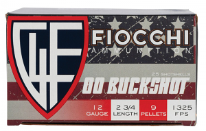 Fiocchi 12 Gauge High Velocity 2.75