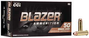 CCI 5204 Blazer Brass 38 Special 125 gr Full Metal Jacket (FMJ) 50 Bx