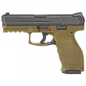 H&K VP9-FDE 9mm Striker Fired, Fixed Sights