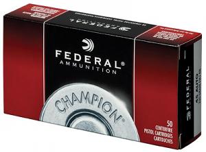 Federal WM5233 Champion 45 ACP 230 gr Full Metal Jacket (FMJ)