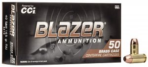 CCI 5210 Blazer Brass 40 S&W 165 gr Full Metal Jacket