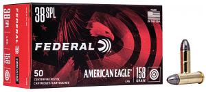 Federal AE38B American Eagle 38 Special 158 gr Lead Round Nose (LRN)