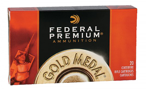 Federal GM308M2 Gold Medal 308 Win 175 gr Sierra MatchKing Hollow Point Boat-Tail