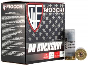 Fiocchi 12EX00BK High Velocity 12 Gauge 2.75