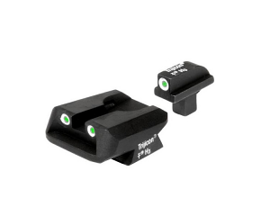Trijicon Night Sight Set - COLT 3 DOT w/NOVAK REAR, WIDE .125 TANG