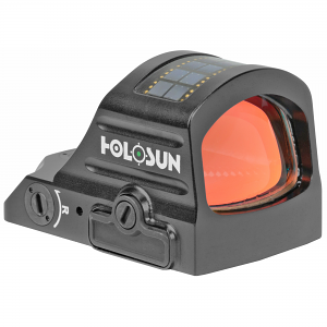Holosun Technologies, 407C-GR-X2, Green Dot, 2 MOA, Black Color, Side Battery, Solar Failsafe