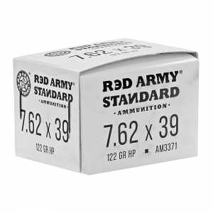 Red Army Standard 7.62x39mm 122 GR. HP - Steel Case - 20RD