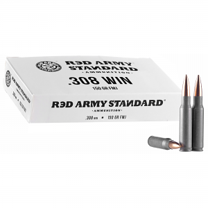 Red Army Standard AM3090 Red Army Standard 308 Win 150 gr Full Metal Jacket