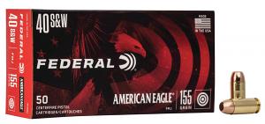 Federal AE40R2 American Eagle 40 S&W 155 gr Full Metal Jacket