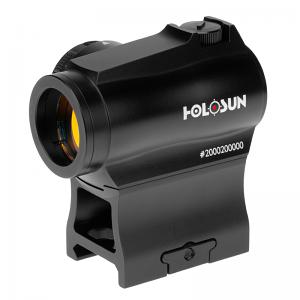Holosun HE503RGD HS 503R Rifle/Carbine 1x 2 MOA Gold Dot & 65 MOA Circle Black Anodized