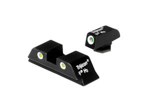 Trijicon Night Sight Set - GLOCK 9mm and .40S&W Models - YELLOW REAR