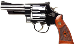 Smith & Wesson Model 27 Classic Six Shot, 4 inch .357 Magnum - Blue