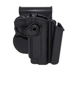SIGTAC Paddle Retention Holster w/Integral Mag Pouch - KEL-TEC P3AT