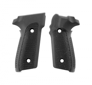 Hogue Extreme G10 Grips P228, P229 - CHECKERED BLACK