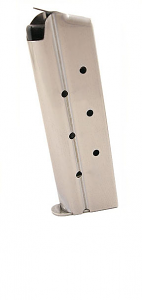 Check-Mate 10mm, 9RD, Stainless Steel - Full Size 1911 Magazine
