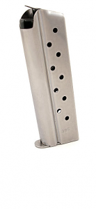 Check-Mate .38 Super, 10RD, Stainless Steel - Full Size 1911 Magazine