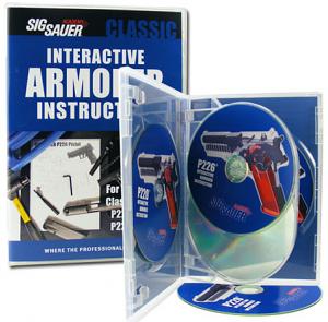 SIG SAUER Interactive Armorer Instruction CD Classic P Series - 4 CD Set
