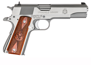 Springfield Armory 1911 Stainelss Steel Mil-Spec .45ACP, 5
