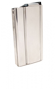 Check-Mate M1A, M14, 20rd Stainless Steel Magazine