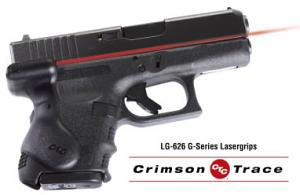 Crimson Trace Laser Grips - Glock 26/27/28/33