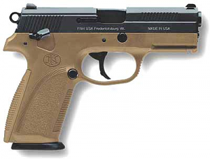 FN FNP 9mm - Dark Earth