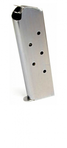 Check-Mate .45ACP, 7RD, SS, GI - Full Size 1911 Magazine
