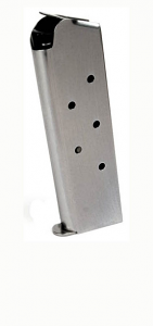 Check-Mate .45ACP, 7RD, SS, Hybrid, CMF - Full Size 1911 Magazine