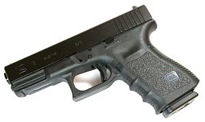Glock 19 9mm - BLACK - Trijicon Night Sights - 3 Magazines