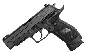 Sig Sauer P226 TACOPS, 9mm, Nitron, Night Sights, DA/SA, Four 20RD Magazines