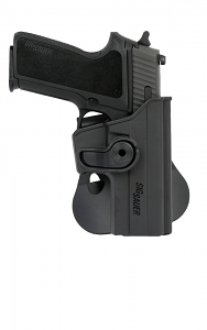 SIGTAC Paddle Roto Holster - Sig Sauer P250 Compact - NEW STYLE - Also fits P220 Carry and Compact