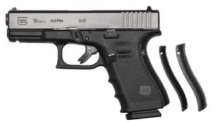 Glock 19 GEN 4 9mm - Black - Night Sights