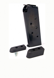 Check-Mate .45ACP, 6RD Compact, Bumper Pads - Officer's Size 1911 Magazine