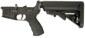 LMT Defender Complete Lower Receiver with SOPMOD Stock, Two Stage Trigger and Ambi Selector