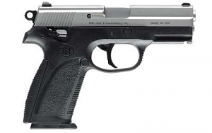 FN FNP 9mm - Black and Stainless Two Tone