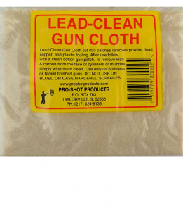 Pro-Shot Lead Cleaning Cloth