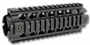 ERGO 2-Piece AR-15/M16 Z Rail System