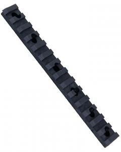 ERGO 14 Slot Polymer Rail Black