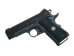 Wilson Combat X-TAC Compact , G10 Grips, .45ACP, Black/Grey