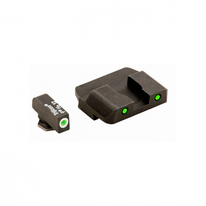 Ameriglo Tritium Night Sight Set - PRO OPERATOR SERIES - Glock 10mm, .45, .357 - Green/Green