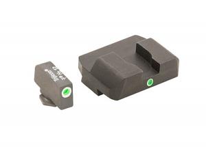 Ameriglo Tritium Night Sight Set - i-Dot - Glock 9mm, .40, .357, .45 G.A.P. - Green/Green