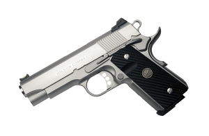 Wilson Combat CQB Compact .45ACP, Ambi Safety, Stainless, Round Butt