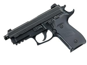 Sig Sauer P229R ELITE DARK 9mm, Adjustable Night Sights, Threaded Barrel, DA/SA, SRT