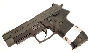 Sig Sauer P226R Special Configuration 9mm, SigLite Night Sights, DA/SA