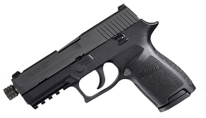Sig Sauer P250 Compact, 9mm, Nitron, Night Sights, DAO, New Style, Threaded BBL